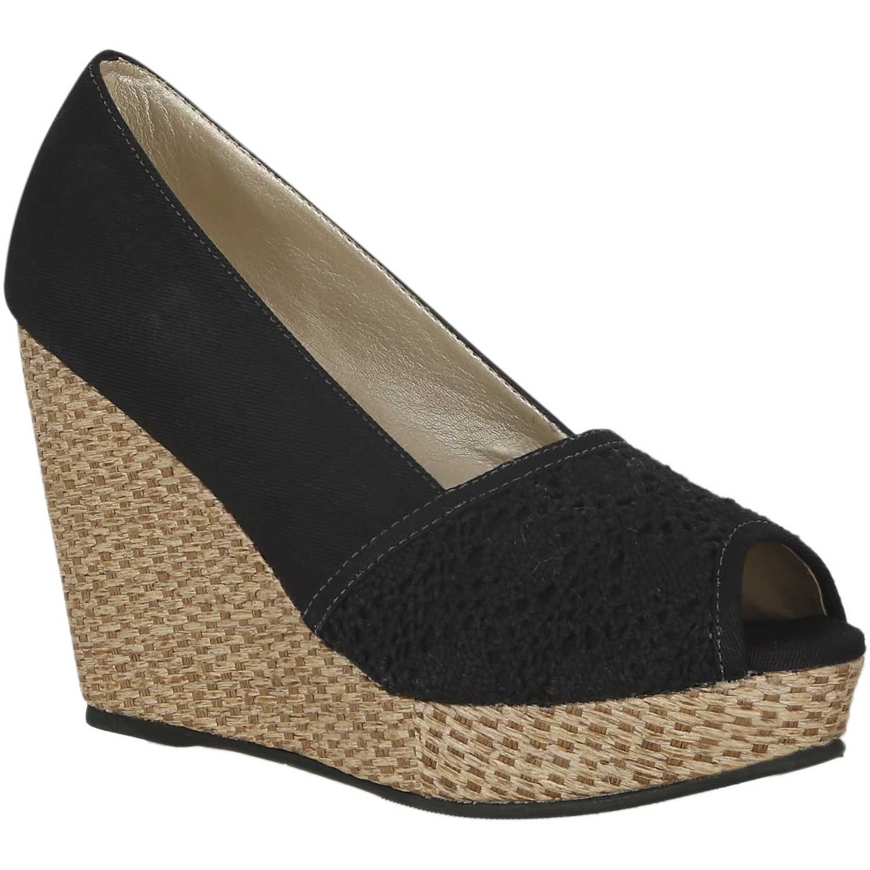 Calzado de Mujer Platanitos Negro cpw amy12