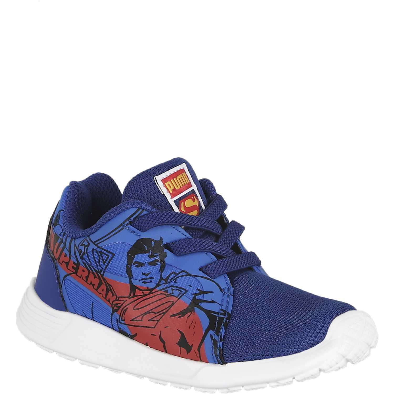 f4092671c Zapatilla de Niño Puma Azul st trainer evo superman ac inf ...
