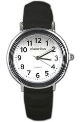Reloj de Mujer Platanitos Negro TB5012