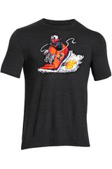 Polo de Hombre UNDER ARMOURGREED FOR SPEED GRAPHIC TEE Negro