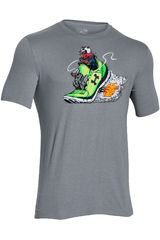 Ropa de Hombre UNDER ARMOUR GREED FOR SPEED GRAPHIC TEE Gris
