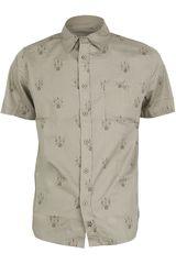 Camisa de Hombre Dunkelvolk POP Hueso