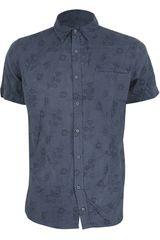 Camisa de Hombre Dunkelvolk BLOSSON Azul