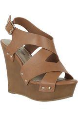 Platanitos Tan de Mujer modelo SPW EMILY15 Cuña Sandalias Plataformas