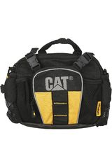 Canguro de Hombre CAT TITANIUM Negro / Amarillo