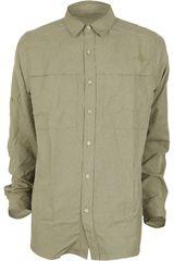 Camisa de Hombre The North Face M L/S TRAVERSE SHIRT Kaki
