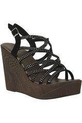 Sandalia de Mujer Platanitos SPW 2303 Negro