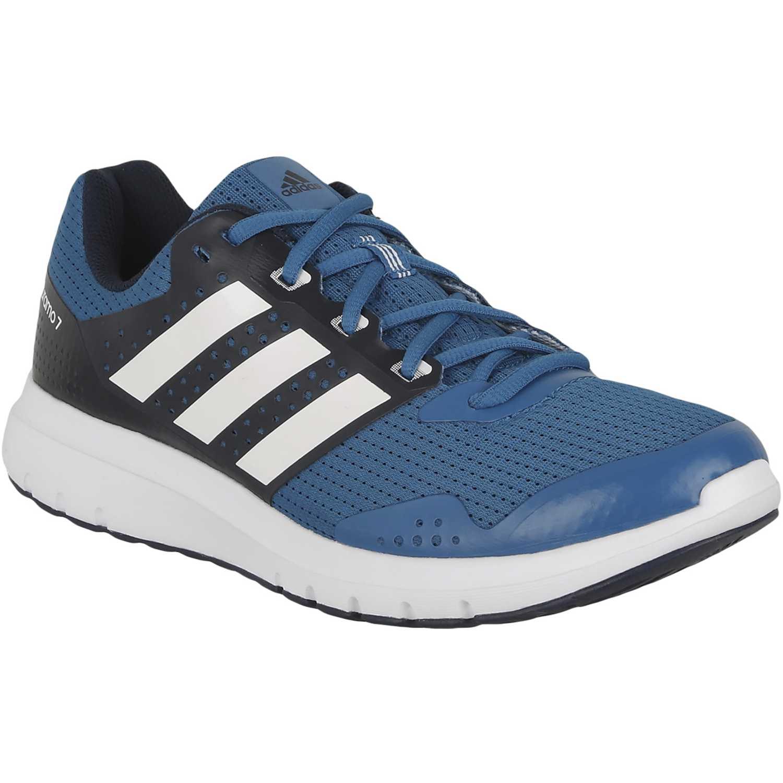 separation shoes e11a8 ea55c Zapatilla de Hombre adidas Azul  Blanco duramo 7 m