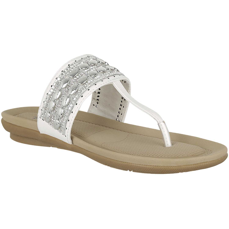 Flat de Mujer Platanitos Blanco sf glenda05
