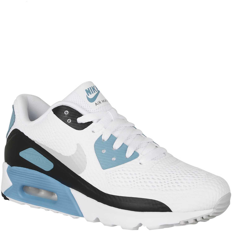 size 40 3e9aa f3755 Zapatilla de Hombre Nike Blanco / Celeste air max 90 ultra essential ...