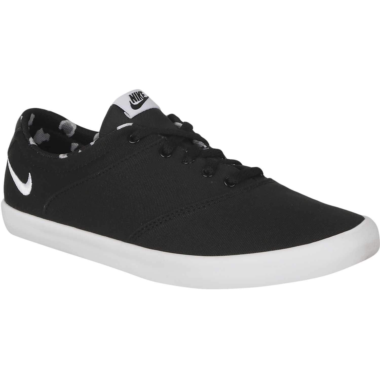 Zapatilla de Mujer Nike Negro / blanco wmns mini sneaker lace cnvs