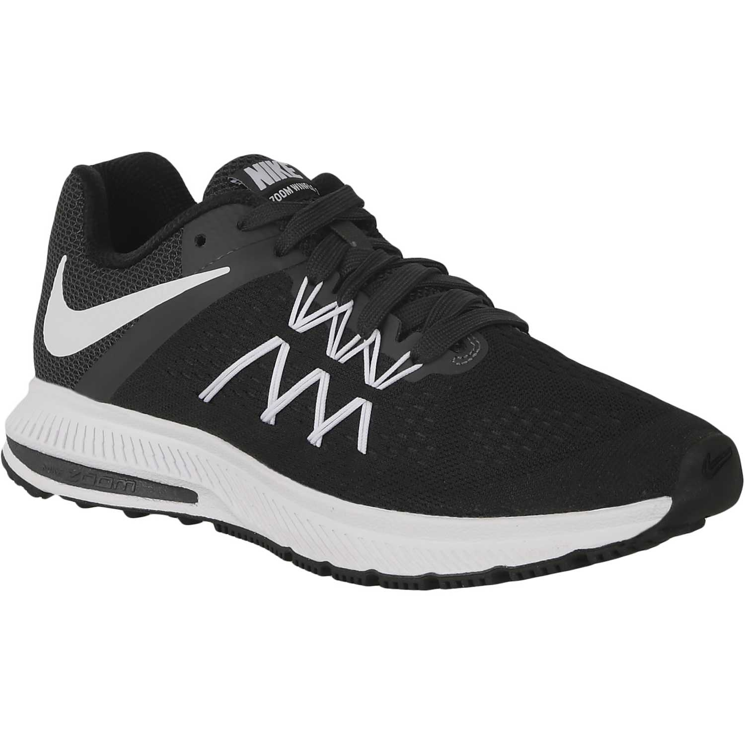low priced ee82d 3be42 Zapatilla de Mujer Nike Negro   Blanco wmns zoom winflo 3