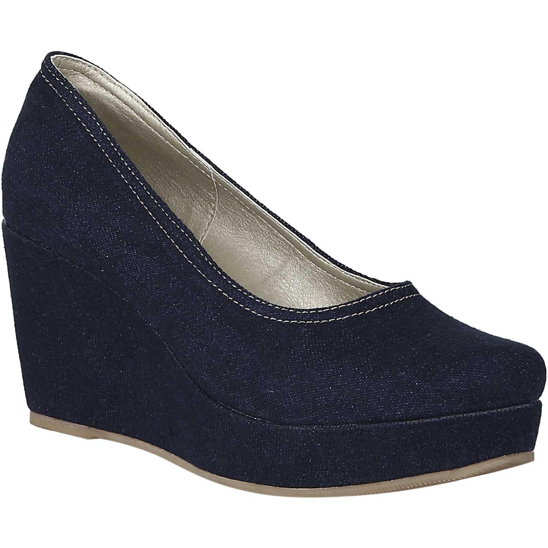 Calzado de Mujer Platanitos Azul cpw tina5