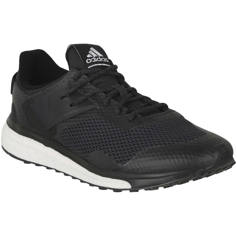 huge discount cc96a ff65a Zapatilla de Hombre Adidas Negro   blanco response 3 m