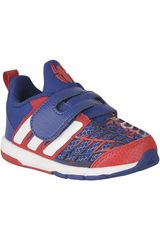 adidas Azul / Rojo de Niño modelo MARVEL SPIDER-MAN CF I Zapatillas Niños Deportivo Calzado Running Hombre
