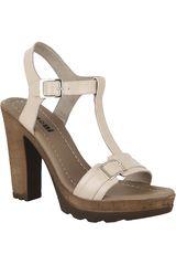Sandalia Plataforma de Mujer Limoni - Cuero SP LEYLA02 Piel