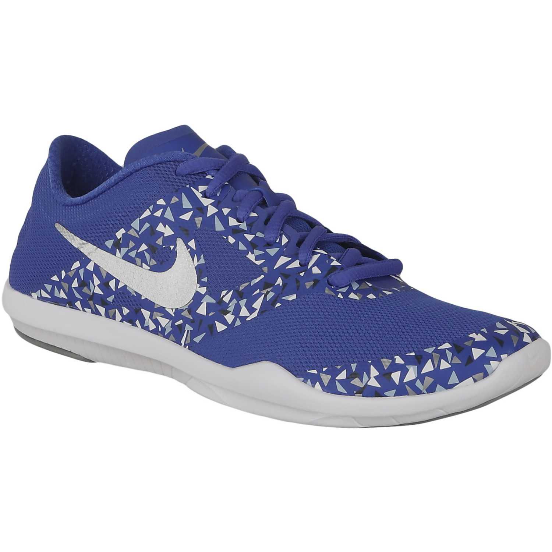 Zapatilla de Mujer Nike Azulino wmns studio trainer 2 print