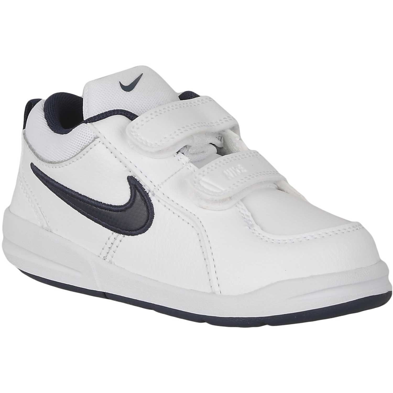 1fa327a2a Zapatilla de Niño Nike Blanco   azul pico 4 btv