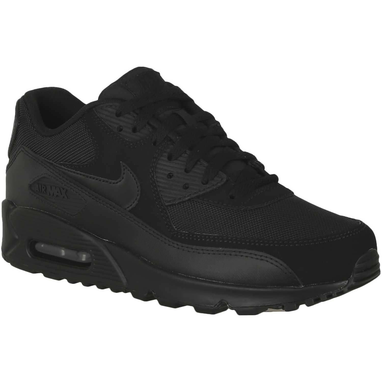 Zapatilla de Hombre Nike Negro / Negro air max 90 essential