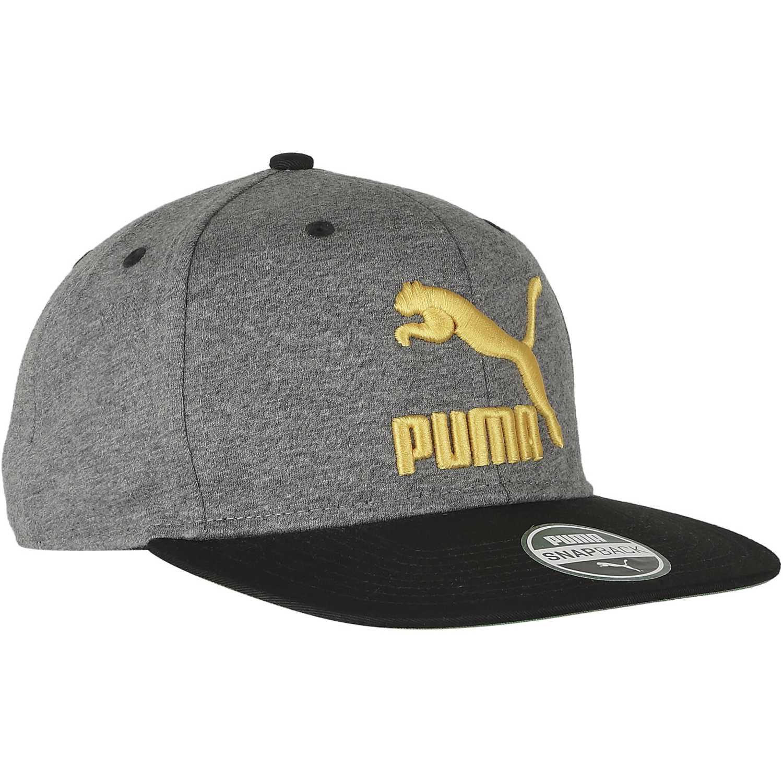 Gorro de Hombre Puma Gris ls colourblock snapback  462d47f2a83