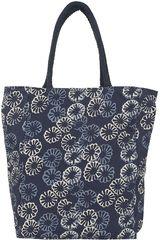 Platanitos Azul de Mujer modelo INDIGO FLOWER Carteras Set Casual