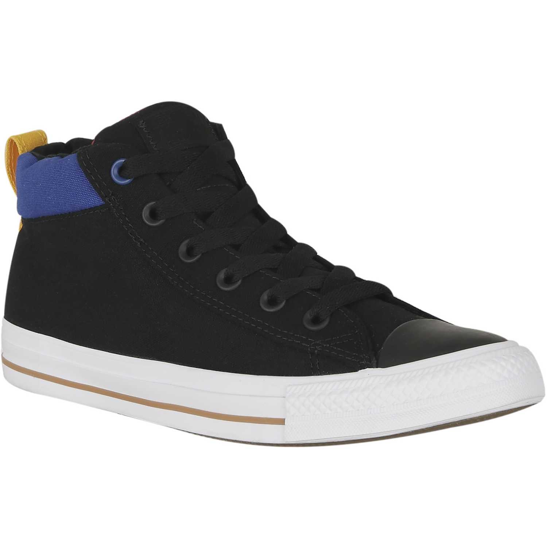 3ee6d8d200 Zapatilla de Hombre Converse Gris / Azul ct as street mid ...