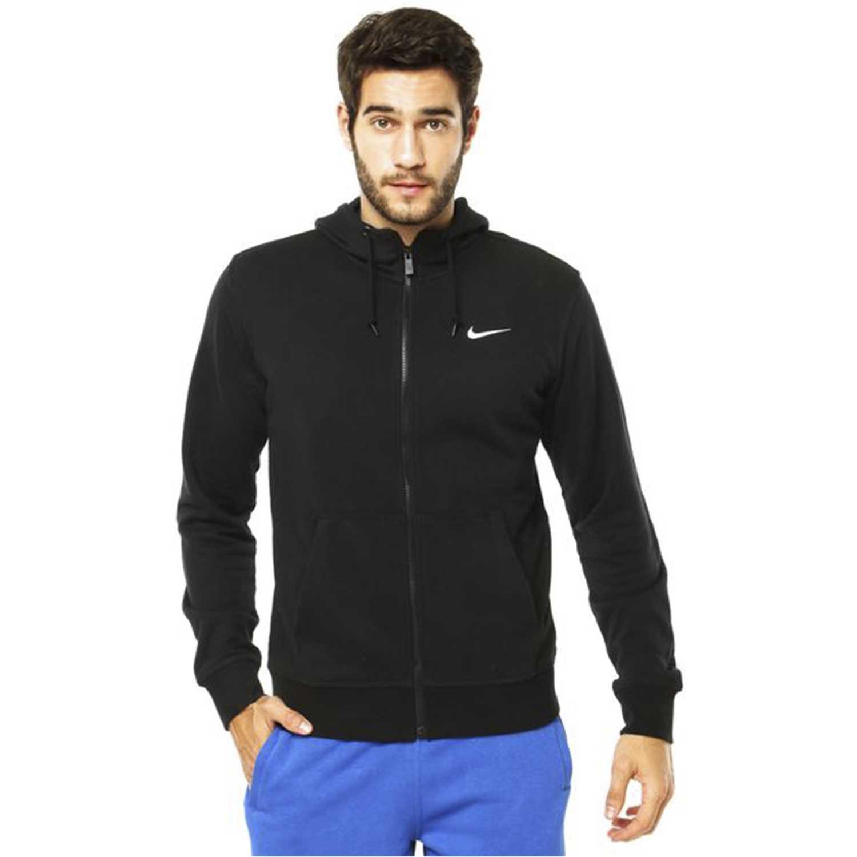 Casaca de Hombre  Nike club ft fz hoody Negro, Material: Textil, Color: Negro.