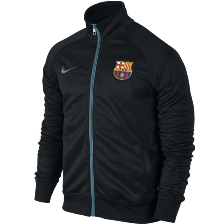 Casaca de Hombre Nike Negro fcb core trainer jacket