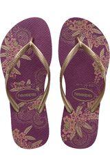 Sandalia de Mujer Havaianas SLIM ORGANIC Morado