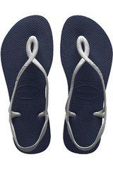 Havaianas Acero de Mujer modelo LUNA Casual Deportivo Playeras Walking Zapatillas Mujer Calzado
