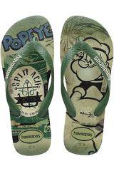 Sandalia de Hombre Havaianas POPEYE Verde