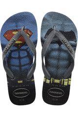 Sandalias Playeras de Hombre Havaianas BATMAN X SUPERMAN Azul / Gris