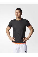 adidas Negro / Naranja de Hombre modelo UFB REVERS JSY Deportivo Camisetas Polos