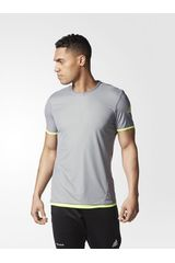 adidas Gris / Verde de Hombre modelo UFB REVERS JSY Camisetas Deportivo Polos