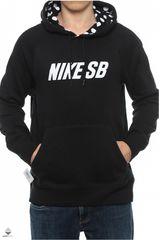 Polera de Hombre Nike SB ICON GRAPHIC PO FLEECE Negro