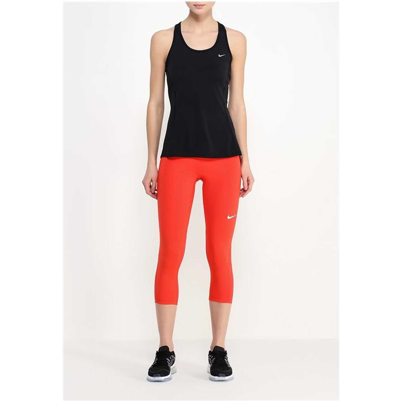 Pantalón de Mujer Nike Rojo pro cool capri