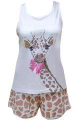 Pijama de Mujer Kayser 70.637 Blanco