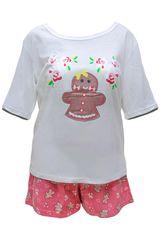Pijama de Mujer Kayser 70.642 Frutilla