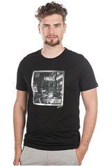 Puma Negro de Hombre modelo STREET SKATER POLAROID Polos Hombre Deportivo Ropa