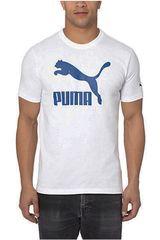 Ropa de Hombre Puma ESS NO.1 TEE Blanco / Azul