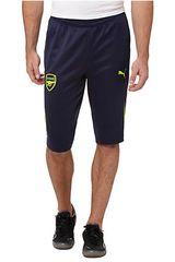 Puma Azul de Hombre modelo AFC 3/4 TRAINING PANTS W/O POCKETS Pantalones Hombre Deportivo Ropa