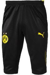 Puma Negro de Hombre modelo BVB 3/4 TRAINING PANT W/O POCKETS Deportivo Pantalones Hombre Ropa