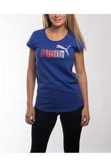 Polo de Mujer Puma STYLE ELEMENTAL TEE W Azul