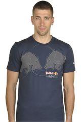 Polo de Hombre Puma RBR GRAPHIC TEE 1 Azul