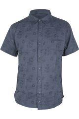 Camisa de Hombre Dunkelvolk BLOSSOM Azul