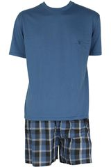 Pijama de Hombre Kayser 77.539 Azulino
