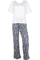 Pijama de Mujer Kayser 60.1062 Blanco