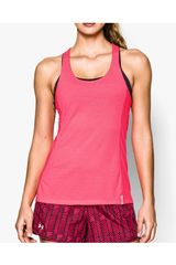 Under Armour Fucsia de Mujer modelo UA FLY BY STRETCH MESH TANK Bividis Ropa Mujer Deportivo