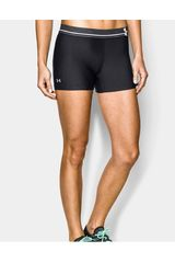 Under Armour Negro de Mujer modelo HEATGEAR ALPHA Shorts Deportivo
