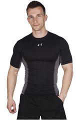 Camiseta de Hombre Under Armour Negro HG ARMOURSTRETCH SS T